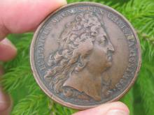 Louis XIV French Copper/ Bronze Medal, 1693, France