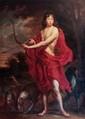 Attribué à Jürgen OVENS(1623 - 1678)Portrait d'un jeune garçon en ActéonToile164 x 130 cmSans cadre