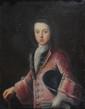 École FRANCAISE du XVIII° sièclePortrait d'un jeune aristocrateToile81 x 65Dans son cadre en bois sculpté et doré d'origine