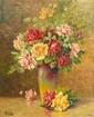 REEVES(Actif au XXème siècle)Bouquet de fleursToile72 x 58 cmSigné en bas à gauche Reeves
