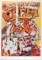 Mimmo ROTELLA (1918-2006)Circo Oscar OrfeiSérigraphie affiches lacérées, signée en bas à droite, numérotée 102/125,Cachet timbre sec de la fondation Rotella en bas à gaucheH 102 L 70 cm