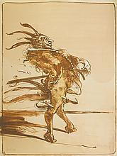Claude WEISBUCH (1927)  Matador  Lithographie, signée en bas à droite et n°171/250 en bas à gauche  76 x 56 cm