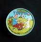 HERGE  Rare boîte de fromage Tintin