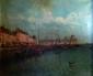 G MASCART  Les bateaux dans le port d'Ostende  Huile sur toile signée en bas à gauche  50 x 65 cm (Restaurations)