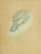Jean FAUtRIeR (1894-1964)  Formes Végétales  Eau forte et aquatinte en couleur sur Japon. Justifiée II/XXV Signée au crayon dans la marge en bas à droite.  65 x 50 cm  Bibliographie : Engelberts 1947/3 Mason
