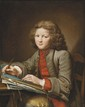 Nicolas Bernard LéPICIé (1735-1784), entourage de Jeune dessinateur Huile sur toile 81 x 65 cm