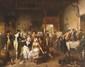 Jean-baptiste madou (1796-1877) Le trouble fête Vers 1845 Sur sa toile d'origine 70 x 91 cm (Sans cadre)