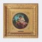Auguste-Joseph AUGUSTE (1815-1900) Vénus et l'Amour Huile sur panneau, signé 25 x 27 cm