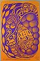 Bill Graham music poster from 1967 for The Who in Fillmore Lights, Fillmore, San Francisco, June 16/17,