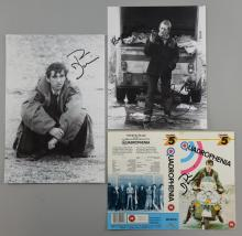 Quadrophenia, signed video sleeve & two black and white photographs (3)