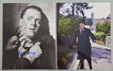 Richard Attenborough, Actor, two signed photographs, 10 x 8 inches (2)