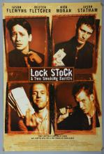 Lock, Stock & Two Smoking Barrels (1998) Two alternate one sheet film posters, Polygram, rolled, 27 x 40 inches (2)