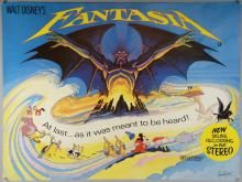 Fantasia (1982) British Quad film poster, signed on the front by the artist Brian Bysouth, Walt Disney, rolled, 30 x 40 inches. This lot has been consigned by Brian Bysouth.