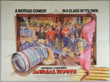 Four British Quad film posters including National Lampoon's Animal House x 2, European Vacation & Vacation, Universal, folded (4) 30 x 40 inches102 x 76cm