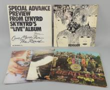 Five LPs - The Beatles 'Sgt Pepper Lonel