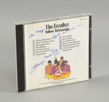 The Beatles - George Martin signed Yello