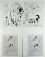 Al Hirschfeld (1903-2003) - Evita - sign