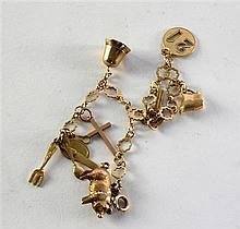 Child's 9ct gold bracelet