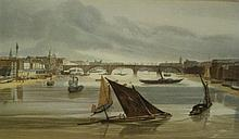 Twelve 20th century prints of 19th century London