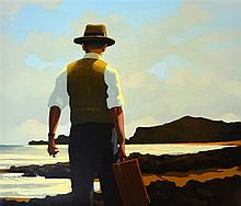 § Jack Vettriano. 'The Drifter'. A signed Limited Edition screenprint.