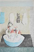 § Duncan Grant (1885-1978) - 'Washerwoman' 1973-4, Artist Proof 17/20, signed in pencil, lithograph