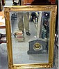 Contemporary gilt framed mirror