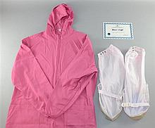 RoboCop (2014) a lab coat & shoes covers used & worn in production