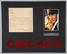 Chicago (2002) a prop fan letter addressed to Roxie Hart, mounted
