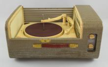 Ferguson Collardo Conquest 344B portable record player, Serial No 2444, cased