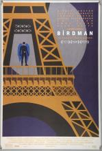 The Birdman (2014) Ten very rare prints of cities including, London, Paris & Mexico City, printed in low numbers on heavy paper stock for promotional purposes,  Fox, rolled, 36 x 24 inches (10)