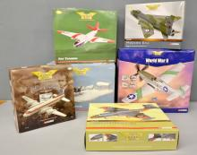 Corgi Aviation Archive six assorted models of aeroplanes various series and scales - all boxed