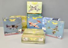 Twenty-three assorted Corgi Aviation Archive boxed models to include a Harrier, a Mustang and a Thunderbolt