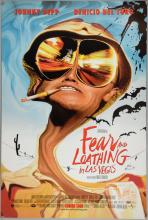 Fear and Loathing in Las Vegas (1998) One sheet film poster, directed by Terry Gilliam, artwork by Ralph Steadman, Universal, rolled, 27 x 40 inches