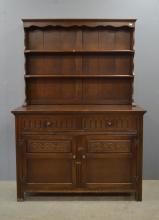 Early 20th century oak dresser