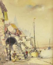 Jorge Aguilar Agon, b 1936,  'Mending th