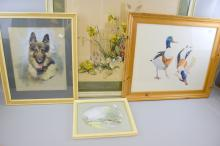 Barbara Crowe - watercolour, and other p