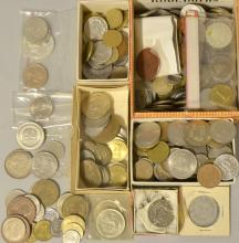 Collection of 20th century coins from ar