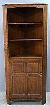 Cotswold style  oak corner cupboard by Reynolds of Ludlow