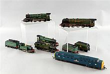 Hornby Dublo locomotive and tender