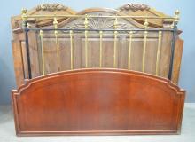 Five various bed headboards