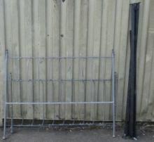 Metal king size bed frame