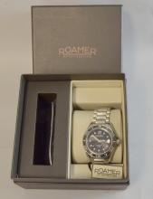 Roamer Rockshell Mark III Mens automatic watch. 10 ATM, With original box and papers.