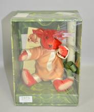 Modern Steiff baby  Alfonso  bear, as new and boxed.
