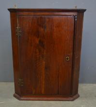 Early Victorian corner cupboard