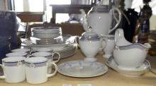 Wedgwood 'Waverley' pattern part dinner and coffee service,