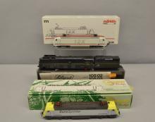 Liliput HO gauge loco No 10502/10503, Ersatzteilliste and Marklin BR 128 loco No 38380 and Mehano Prestige Siemens Euro Sprinter/ Renfe 252