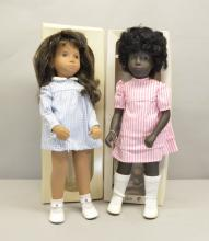 Sasha dolls Cora, no 109, Brunette Gingham 4-103, (2) boxed