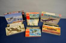 Quantity of Frog and other aircraft model kits,