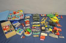 Collection of unboxed toy cars to include Matchbox and Corgi,