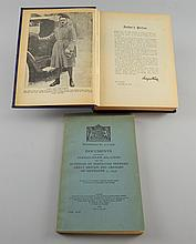 Adolf Hitler, Mein  Kampf and Documents Concerning German-Polish Relations. 1939.